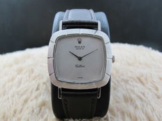 1970 ROLEX CELLINI 3660 18K WHITE GOLD WITH FANCY BEZEL