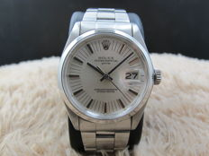1972 ROLEX OYSTER DATE 1500 ORIGINAL SILVER LONG SECONDS TRACK DIAL