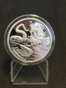United States - Medal 'Silverbugs Island Octopus' - 1 oz silver