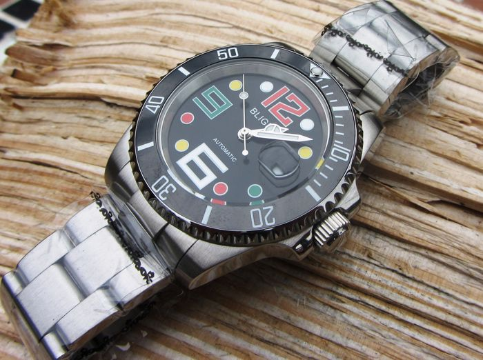 Bliger Submariner - Wristwatch  - Modern >2000