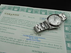 1988 ROLEX OYSTER DATE 6694 ORIGINAL SILVER DIAL WITH PAPER