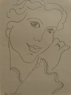 Henri Matisse (after) - Woman portrait