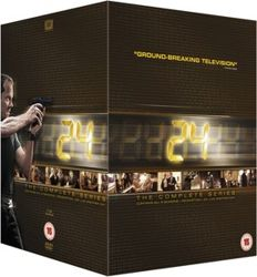 24 The Complete Series - DVD collector's box edition containing all seasons