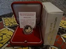 "Monaco – 2 Euro coin 2016 ""150 year anniversary Founding of Monaco 1866-2016"""