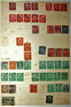 World 1902/1944 - Collection on 65 leaves
