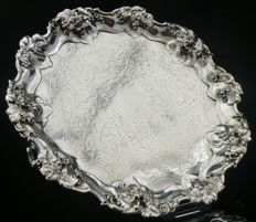 Silver Salver, Sheffield, 1835, James Dixon & Son