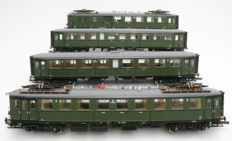 Roco H0 - 63140 - 4-piece electric train 'Blokkendoos' of the NS