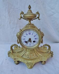 Bronze mantle clock - France - Approx. 1860