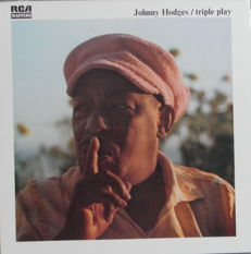 A Very Rare Collection of Johnny Hodges  - 15 LP's of which 9 are Stock Copies( Mint Records)