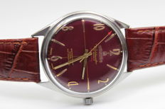 Atlantic -  crimson shield ORIGINAL 17 jewels – men's wristwatch – from 60.