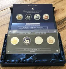 Silver investment coin - prestige set 2012 - only 3,000 pieces