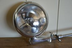 UNITY MFG. CO - search light - 1950 / 1960 - USA - diameter 16 cm - total including arm length 48 cm long