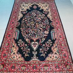 Superior Kashmir Ghom carpet – 170 x 97 – special design and superb condition