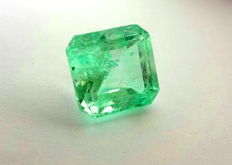 Emerald -  Green - 18.77 ct