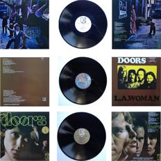 The Doors  Lot Of  Three  LP's  -  All Are Re - Issues !!