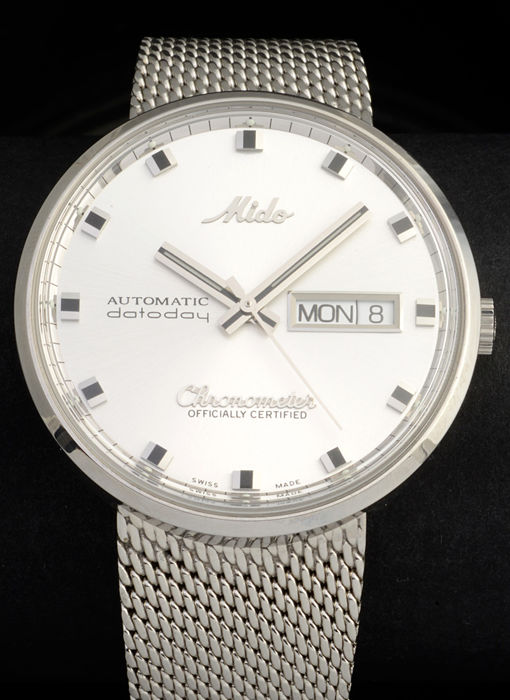 Mido - Automatic Datoday - Chronometer - Men's watch - NO RESERVED PRICE