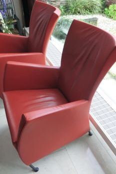 Gijs Papavoine by Montis – 2x 'Windy' armchair