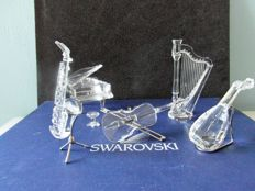 Swarovski - The complete Orchestra - 5 piece set.