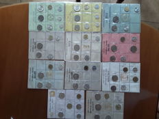 Republic of Italy - 1969/1979 - Lot of 11 divisional series, including silver coins
