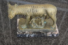 The she-wolf - symbol of Rome - from the second half of the 20th century