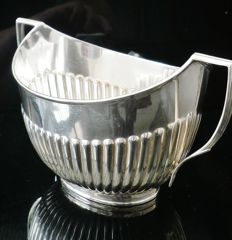 Large Silver Sugar Bowl, London 1902, William Hutton & Sons Ltd