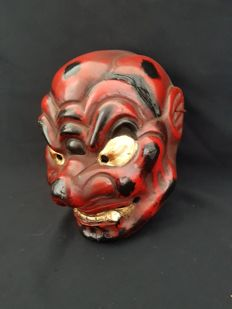 Tengu mask - Japan - around 1920-1940