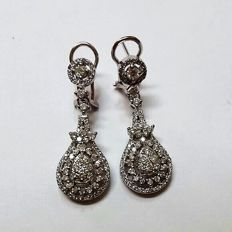 1.65 ct Diamond Earrings H-VS/SI