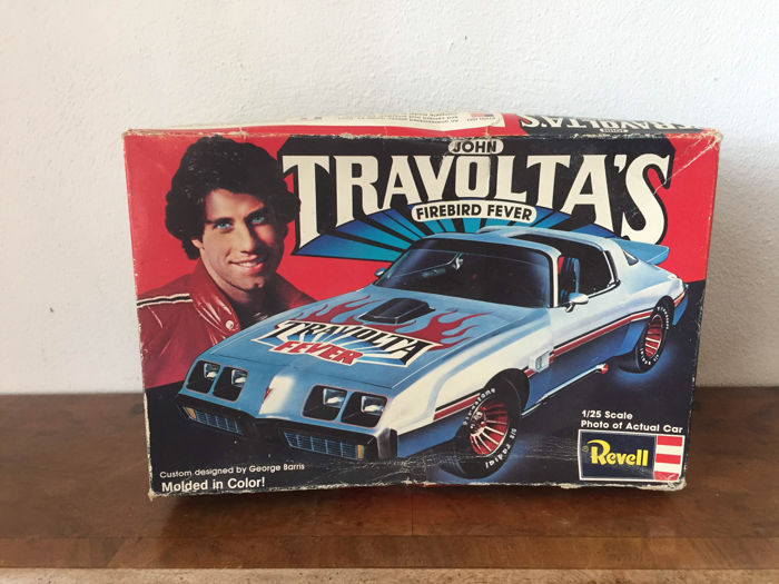 John Travolta's firebird fever revell model - 1979