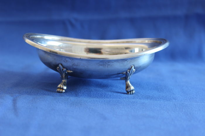 Candy bowl in Silver 800 - Greggio - Padua