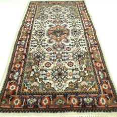 """Tabriz, 147 cm x 73 cm, """"Oriental rug in natural shades and in beautiful condition"""""""