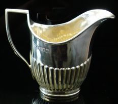 Silver Cream Jug, London 1902, William Hutton & Sons Ltd