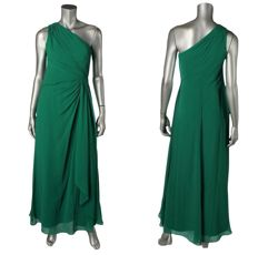 Ralph Lauren - Goddess green evening Dress