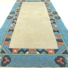 Nepalese – 142 x 75 cm – oriental carpet in wonderful, virtually unused condition.