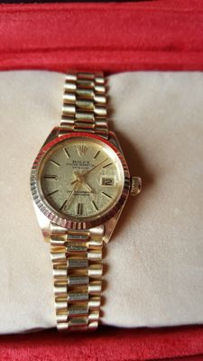 Rolex watch – Oyster Perpetual Datejust – Women – Year 70s