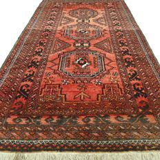 "Afghan – 191 x 99 cm – ""Authentic Persian carpet in wonderful condition"" –"
