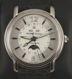 Maurice Lacroix - Masterpiece Automatic - Moon phase - Men's watch