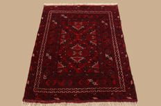 Hand-knotted Afghan carpet - approx. 135 x 102 cm