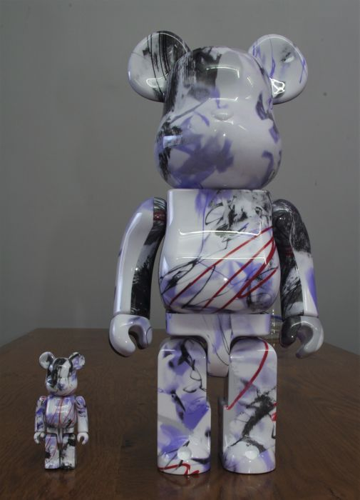 Futura 2000 - Medicom Toy exclusive Be@rbrick 100% & 400% Set