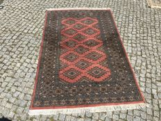 Pakistan Rug Hand knotted 200x125cm TOP QUALITY AND TOP CONDITION