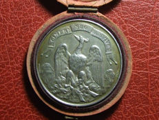 France - Medal 'Phoenix / Insurance Against Fire Rouen' 1856 by Borrel - Silver