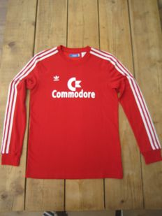 Bayern Munchen shirt Commodore 1987-1988 very rare Adidas factory sample