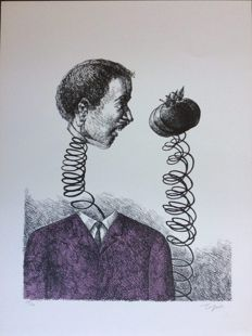Roland Topor - Composition