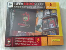Panini - UEFA Euro 2008 Austria/Switzerland - Mini album + 180 mini sticker, complete set