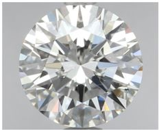 0.75 ct IGI Round Brilliant Diamond I SI1  -Original Image-10X - Serial# 192