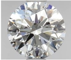 0.70ct Round Brilliant Diamond D IF IGI - SEALED - Serial# 1565