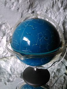 Old Alpha celestial globe lamp