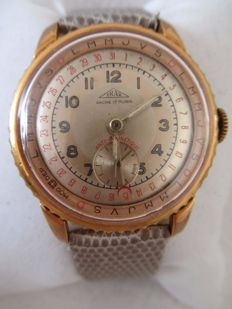 Irax Pointer Date - Men's watch - 1940's