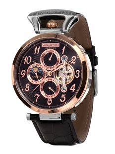 Calvaneo 1583 Lucida Nova Luxury rose gold - steel