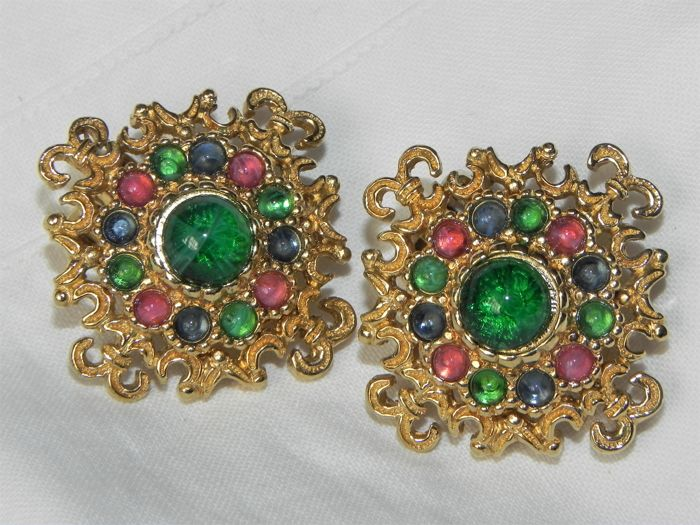 vintage clip earrings for sale only 3 left at 70