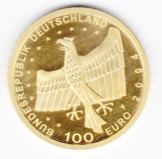 "Germany – 100 euro 2004 ""Unesco, Bamberg"" – 1/2 ounce gold"